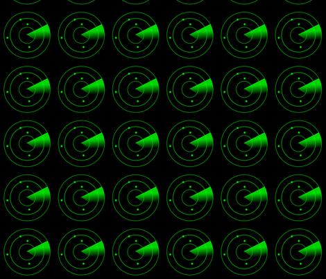 Radar green fabric by alexsan on Spoonflower - custom fabric