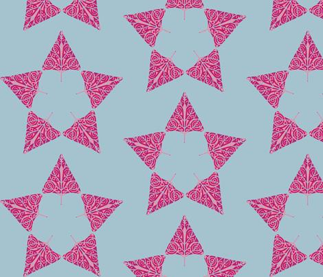 christmas tree star  fabric by keweenawchris on Spoonflower - custom fabric