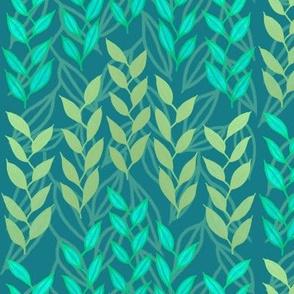 Bronze + turquoise sea grasses by Su_G