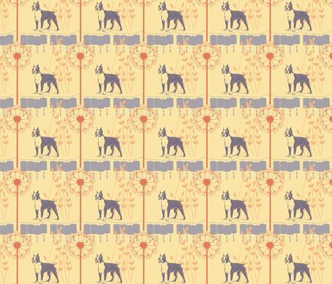 Lulu goes East fabric by freyarenee on Spoonflower - custom fabric