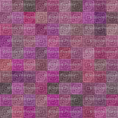 Quilt - Square - Pink