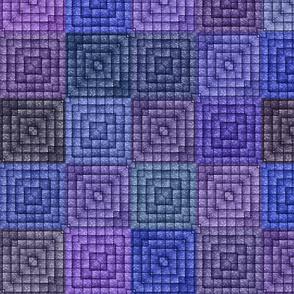 Quilt - Square - Purple