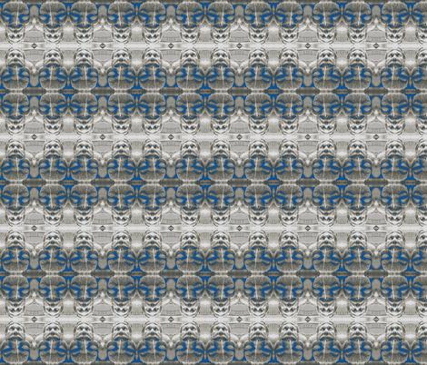 Grotesque Peacock fabric by zippyartist on Spoonflower - custom fabric