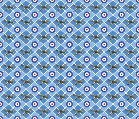 Hurricane_Argyle fabric by peppermintpatty on Spoonflower - custom fabric