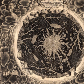 A.Kircher, Mundus subterraneus