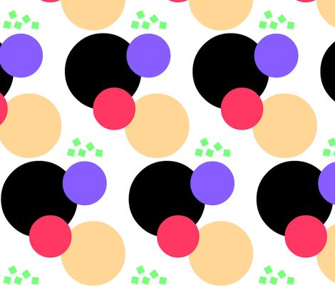 Jumble fabric by zippyartist on Spoonflower - custom fabric