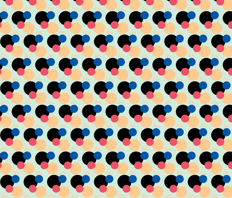 Jumble Junior fabric by zippyartist on Spoonflower - custom fabric