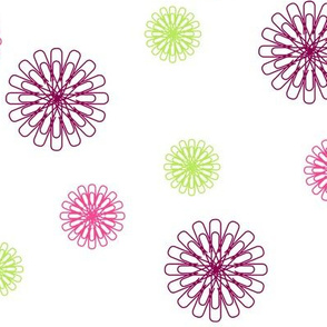 Pretty Paperclip Flowers