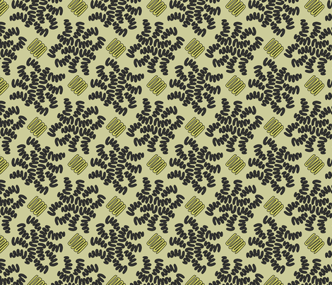 SQUIG CAMO fabric by glimmericks on Spoonflower - custom fabric