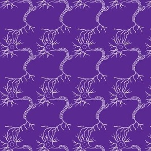 Numerous Neurons in purple