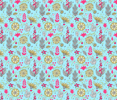 Berry Blue fabric by chad_grohman on Spoonflower - custom fabric