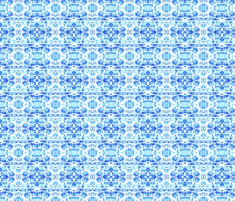 Blue Dye Muscle Tissue fabric by janeffer on Spoonflower - custom fabric