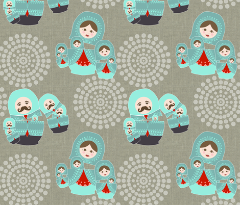 mr_and_mrs_1 fabric by lauradejong on Spoonflower - custom fabric