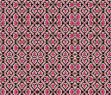 pink_rose_pattern fabric by anino on Spoonflower - custom fabric