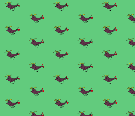 2birds fabric by art_for_happiness on Spoonflower - custom fabric
