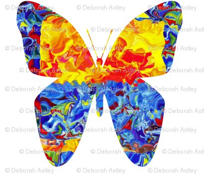 Circus Butterfly (large scale design)