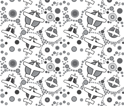 Aviation_2 fabric by isabella_asratyan on Spoonflower - custom fabric