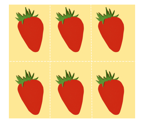 Seed the Strawberries fabric by boris_thumbkin on Spoonflower - custom fabric