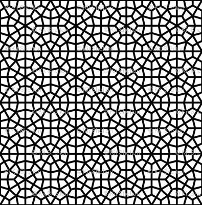 Bold Moorish Lattice