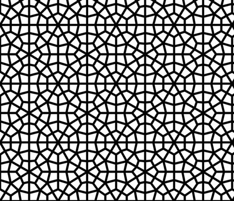 Bold Moorish Lattice fabric by kitsapien on Spoonflower - custom fabric