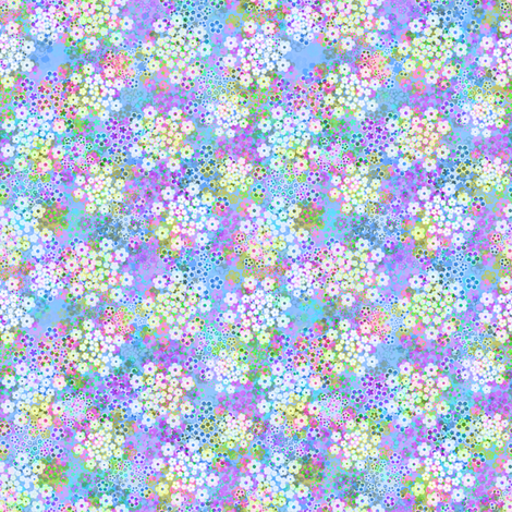 Verbena violet fabric by joanmclemore on Spoonflower - custom fabric