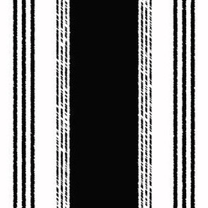 French Ticking in noir