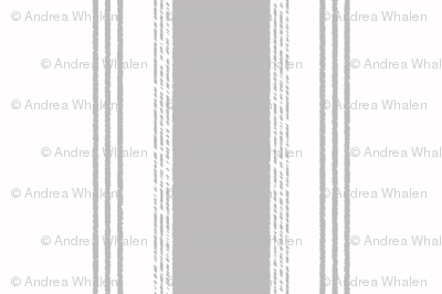 French Ticking in gris