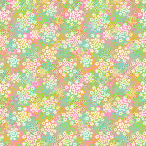 Verbena Meadow fabric by joanmclemore on Spoonflower - custom fabric