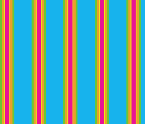 Pinata Stripes fabric by pumpkinbones on Spoonflower - custom fabric