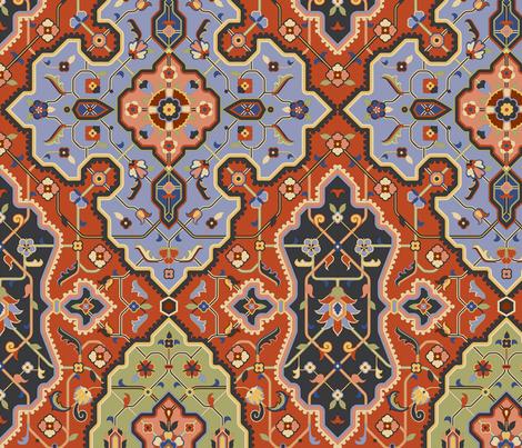 Serpentine 485a fabric by muhlenkott on Spoonflower - custom fabric