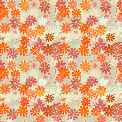 Vintage Cosmos Floral