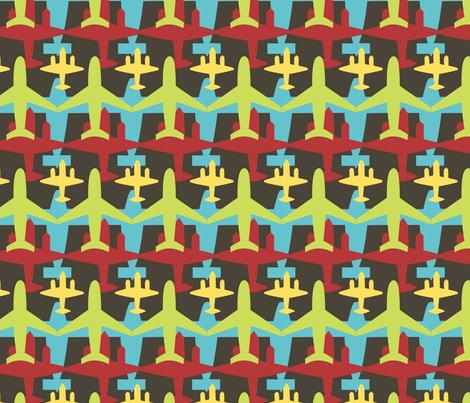 Planes fabric by bojudesigns on Spoonflower - custom fabric
