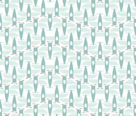 Soaring - V-Formation fabric by ttoz on Spoonflower - custom fabric