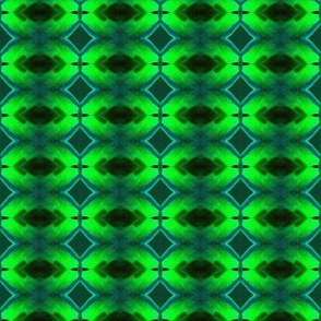 Diamonds and Light in Green
