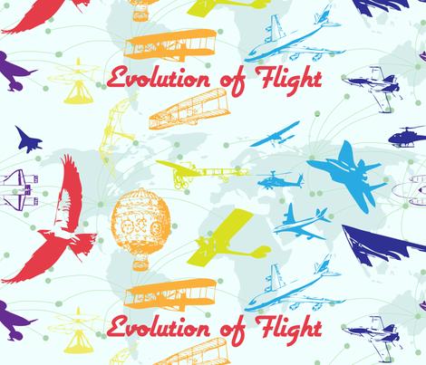 Evolution of Flight1 fabric by bbsforbabies on Spoonflower - custom fabric