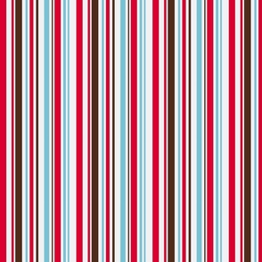 Aqua, red and brown stripe final revision