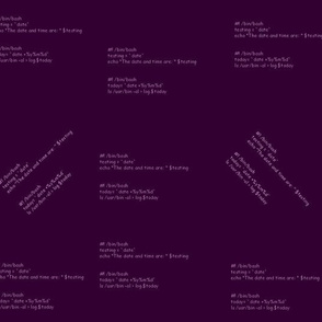 bash script1 - dk purple