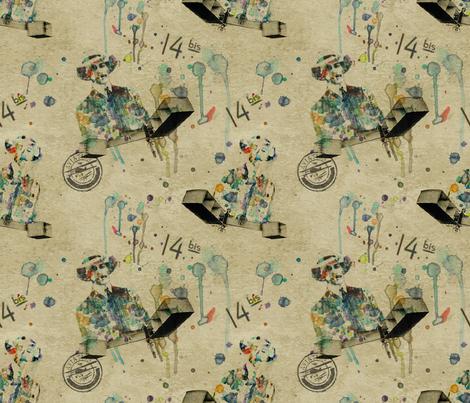 Dumont´s Dreams fabric by isbelo on Spoonflower - custom fabric