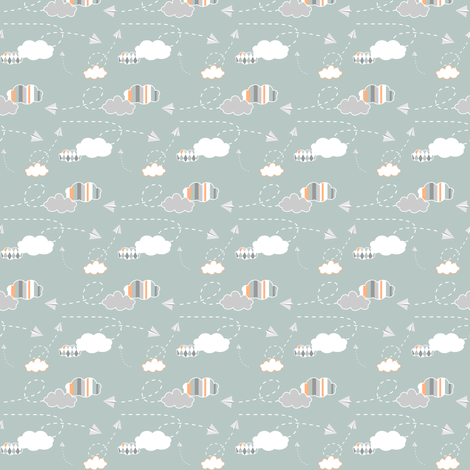 puffsnplanes fabric by mrshervi on Spoonflower - custom fabric