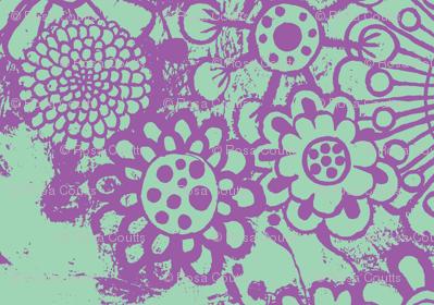 flowers-blue/purple