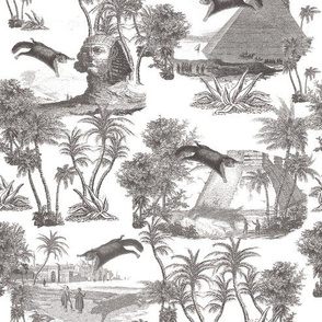 Giant flying squirrel attack toile-BLACK