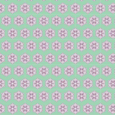 Lace Mandala fabric by ruthevelyn on Spoonflower - custom fabric