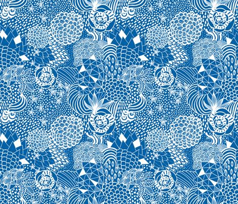 Daydream Doodle fabric by kimsa on Spoonflower - custom fabric
