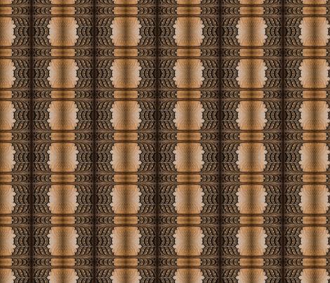 Wooden Door Symmetry fabric by galleryhakon on Spoonflower - custom fabric