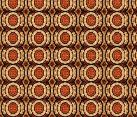 Woven Circular Pattern fabric by galleryhakon on Spoonflower - custom fabric
