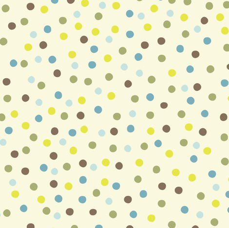 Nesting Dots fabric by bzbdesigner on Spoonflower - custom fabric