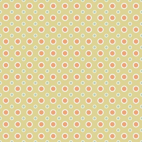 Vintage dots fabric by grafiketgrafok on Spoonflower - custom fabric
