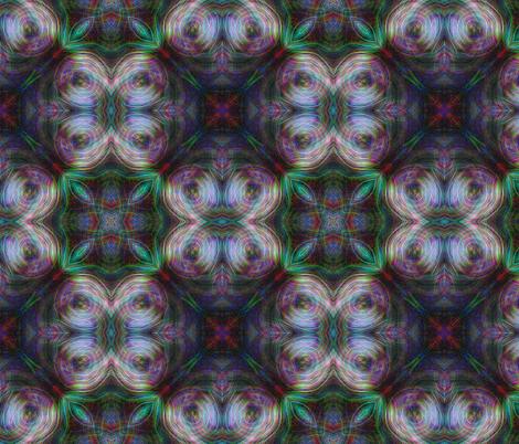 Neon Flowers fabric by feebeedee on Spoonflower - custom fabric