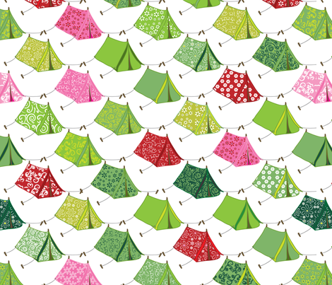 Glamping fabric by ebygomm on Spoonflower - custom fabric