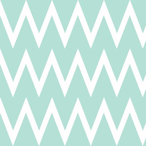 Tall Chevron Mint